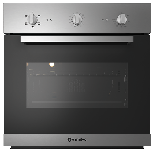 quality design 37584 1bdcc Oven – 60cm size (1017237507) Electric – Multifunction – glass – stainless  steel Basic Inox 6-0